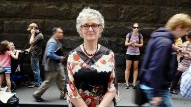 Nine-million-seller: Lynley Dodd at last year's Children's Book Festival in Melbourne.