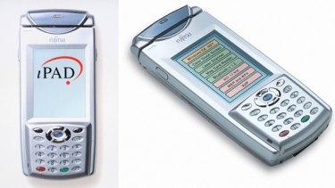 Fujitsu's iPAD device.