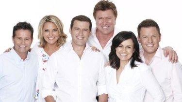 End of an era: the <i>Today Show</i> team.