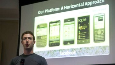 Facebook CEO Mark Zuckerberg announces a new mobile Facebook platform this week.