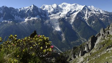 The Chamonix Valley, pictured from the Brevent mountain. A ban on BASE jumping from the peak was lifted in July last year.