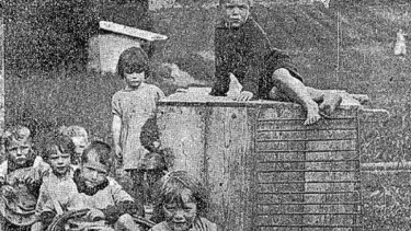 """Children at """"the Home"""" in Ireland in 1924 (Connaught Tribune, 21st June 1924) Source:  @Limerick1914"""