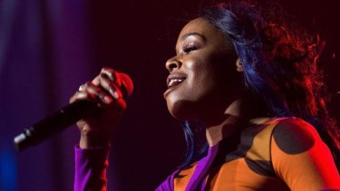 Azealia Banks played a full set at Splendour in the Grass.