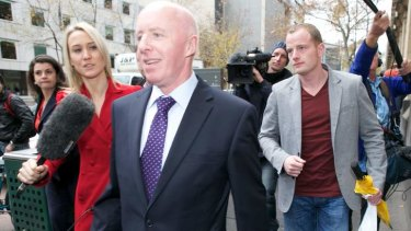 """Jill Meagher's father George McKeon told the court how she wanted him to be a """"young granddad""""."""
