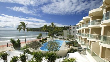 Life's a beach ... but  then property prices at holiday resorts such as Noosa begin to fall flat.