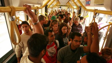 If the tram is packed, is that the population's fault or the lack of trams?