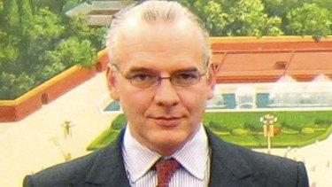 Victim ... Neil Heywood.