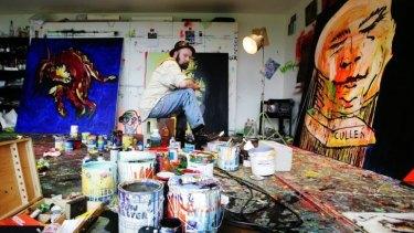 A life lead as a work of performance art: Adam Cullen.