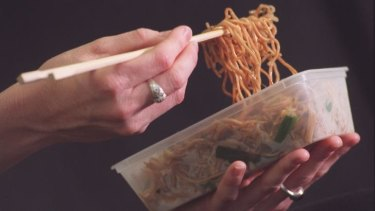 """""""These noodles are like crack."""" Nope, it's opium."""