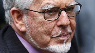 On trial: Rolf Harris.