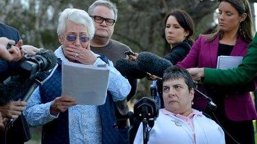 Shock … victim's mother Wendy Rowe.