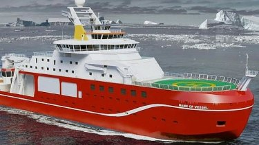 Boaty McBoatface was instead named David Attenborough.