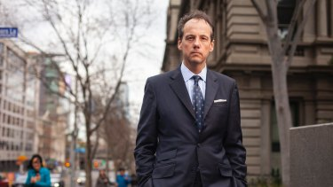 James Shipton, chairman of ASIC, which wants more government funding to fight banks in court.