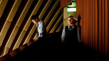 Take your seats please: Compositions by Sydney schoolchildren Yilan Yu, 14,  and Paris Francis, 13,  will usher theatregoers into the Sydney Opera House for the next year.