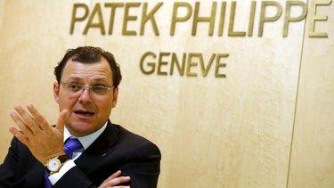Different target market: Patek Philippe chairman Thierry Stern.