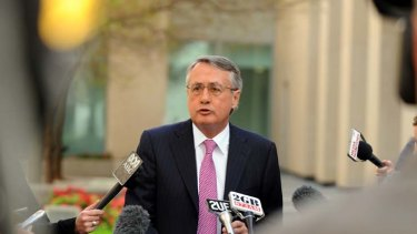 Downplaying expectations ... Wayne Swan speaks before the two-day tax forum, setting out its parameters and ruling out a GST increase.