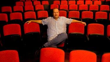 Theatre director Chris Baldock