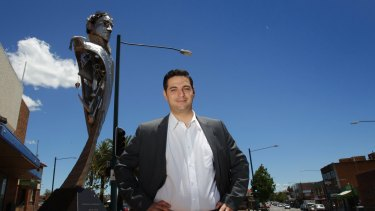 Liverpool mayor Ned Mannoun. Liverpool Council shaved $200 million off its $260 million liability.