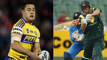 Ratings game ... Channel Nine is yet to decide whether it will broadcast round one of the NRL or Australia's clash against Sri Lanka in the one-day cricket international.