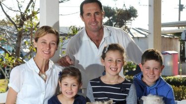 A matter of control: Geoff Hunt murdered his wife and three children in rural NSW last week.