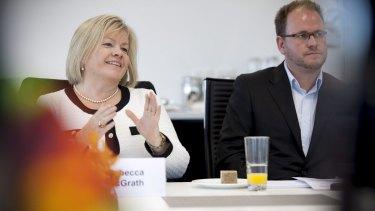 Company director Rebecca McGrath is calling for more 'gender diversity'.