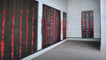 The Roll of Honour at the Australian War Memorial.