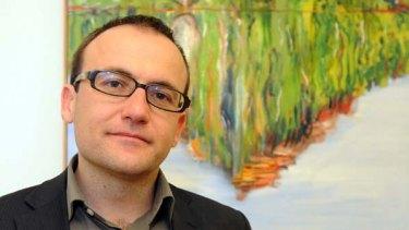 New deputy leader ... Greens MP Adam Bandt.
