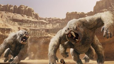 Michael Chabon adapted the work of Edgar Rice Burroughs to create the script for John Carter</i>.
