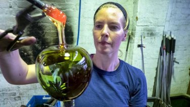 Larger than life: Laurel Kohut experiments in making giant jewellery in glass.