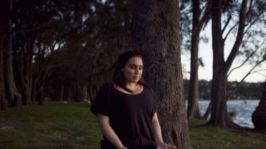 No thoughts whatsoever … Toni Martelli believes ''mental silence'' meditation has played a large part in shrinking the tumour on her throat.