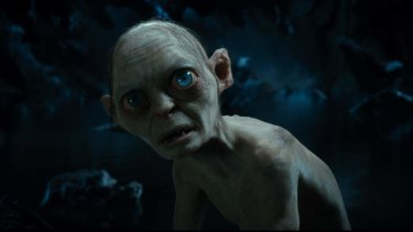 Gollum seems concerned by the news he needs more vitamin D.