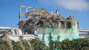 Disaster: Unit three of the Fukushima Daiichi Nuclear Power Plant.