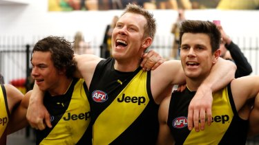 Opening up to his teammates has given Trent Cotchin a new sense of freedom, and enjoyment of football again.