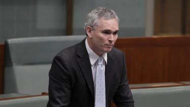 Craig Thomson - now an independent MP - in question time today.