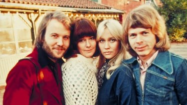 The jury's favourite: ABBA took first place in Eurovision for Sweden in 1974 with <i>Waterloo</i> and went on to become the song contest's most successful group.