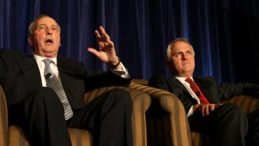 Paul Keating and Malcolm Turnbull.