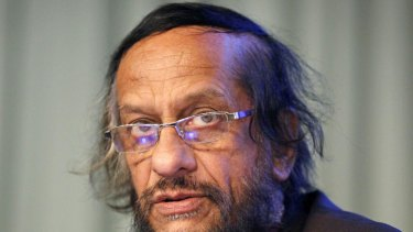 IPCC chief Dr Rajendra Pachauri at the UN Climate Change Conference in Copenhagen in 2009.
