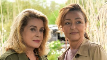 Catherine Deneuve (left) and Catherine Frot deliver high quality performances  in <i>The Midwife</I>.