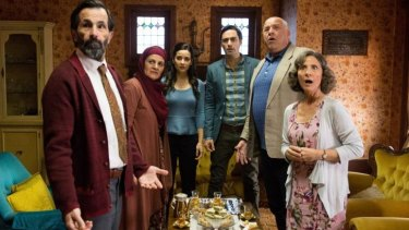 Cross-cultural family tensions arise in the Australian comedy <i>Alex and Eve.</i>