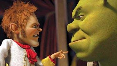 Shrek Forever After ... American audiences for 3D films is shrinking.