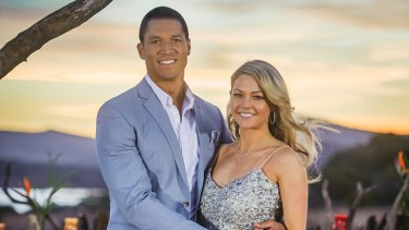 Relationship over: Blake Garvey and Sam Frost.