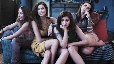 Jemima Kirke, Allison Williams, Lena Dunham and Zosia Mamet play a quartet of women in their 20s in New York.