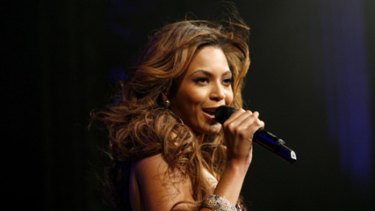 Faced pressure to donate her fee ... Beyonce Knowles.