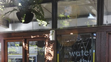 Gus' Cafe on the corner of Bunda Street and Garema Place in Civic ... future unclear.