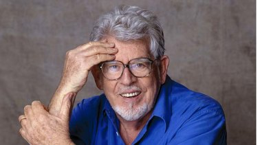 Rearrested: Rolf Harris.