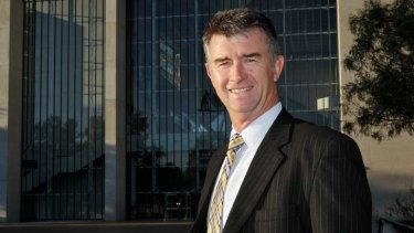 Queensland Public Works Minister Tim Mander. File