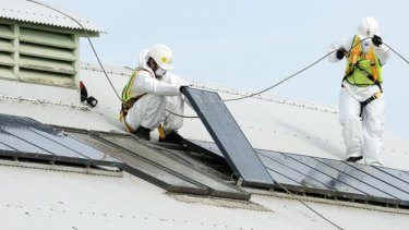State government feed-in tariff cuts are hurting demand in the nascent solar industry.
