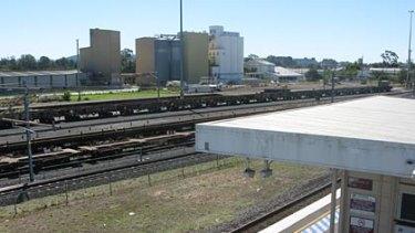 The Clapham railyards, near Moorooka station.