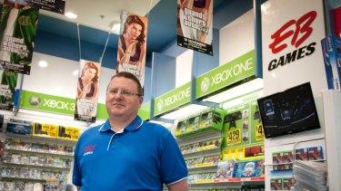 EB Games managing director Stephen Wilson.