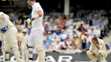 Stonewalled: Nathan Lyon was the pick of the bowlers but claimed just one wicket.